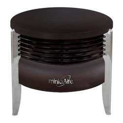 Minka-Aire - Minka-Aire Hassock Aire Kocoa Portable Fan - F315-KA - This Portable Fan is part of the Hassock Aire Collection and has a Kocoa Finish.