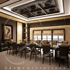 Contemporary  by Hashem Interiors