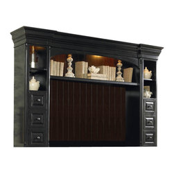 Hooker Furniture - Hooker Furniture New Castle II Entertainment Console Hutch - This beautiful Entertainment Console Hutch is a great addition to your entertainment area. Console is sold separately.