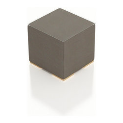 Harmonia Living - Element Outdoor Modern End Table - The Harmonia Living Element Modern Sling Patio End Table (SKU HL-ELE-TP-ET) provides an incredibly chic setting for relaxing out on your deck or patio. This modern outdoor table's compact, minimalist design can accommodate your guests in small areas without compromising the contemporary look. The table is covered in a modern, quick-drying Textilene sling fabric, designed to last despite harsh outdoor elements. It is framed with powder-coated, thick-gauged aluminum for strength and excellent corrosion resistance. Conveniently, underneath this patio table are plastic guides to let you slide the seats or rearrange the set freely without worrying about damage to your patio or deck.
