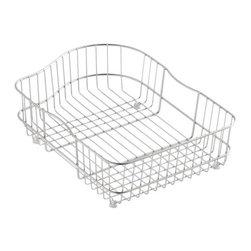 KOHLER - KOHLER K-6603R-ST Hartland Wire Rinse Basket for Right Hand Basin - KOHLER K-6603R-ST Hartland Wire Rinse Basket for Right Hand Basin in Stainless Steel