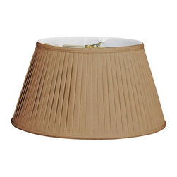 Royal Designs, Inc. - 6-Way / Side Pleat Basic Lampshade - This 6-Way / Side Pleat Basic Lampshade is a part of Royal Designs, Inc. Timeless Basic Shade Collection and is perfect for anyone who is looking for a traditional yet stunning lampshade. Royal Designs has been in the lampshade business since 1993 with their multiple shade lines that exemplify handcrafted quality and value.