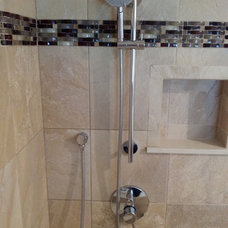 Contemporary Showers by cappello plumbing
