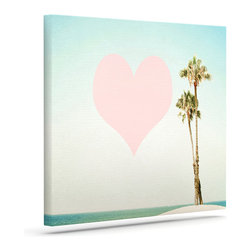 """Kess InHouse - Bree Madden """"Summer Lovin'"""" Wrapped Art Canvas (24"""" x 20"""") - Bring your outdoor patio to life with this artistic outdoor canvas wrap featuring gorgeous artwork by KESS InHouse. These canvases are not only easy to hang and remove but also are the perfect addition to your patio collection. These canvases are stretched around a wooden frame and are built to withstand the elements and still look artistically fabulous. Decorating your patio and walls with these prints will add the splash of art and color that is needed to bring your patio collection together! With so many size options and artwork to choose from, there is no way to go wrong with these KESS Canvas Wraps!"""