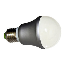 Warm White A19 5.5W LED Light Bulb - Brilliant 5.5 watt warm white A19 LED light bulbs are your direct replacement for any E27 40 watt incandescent bulbs. They are 85% more efficient and last up to 40,000 hours, saving you time and money.