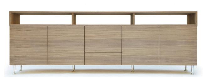 Modern Media Storage by Tomasi Design