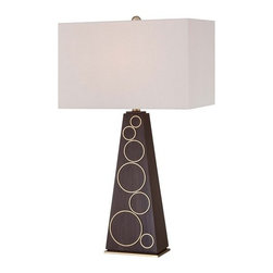 "Kovacs - Kovacs P1610-0 1 Light 29.5"" Height Table Lamp Portables Collection - Single Light 29.5"" Height Table Lamp from the Portables CollectionFeatures:"