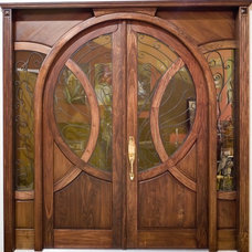 Eclectic Front Doors by US Door & More Inc