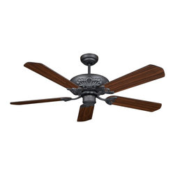 """Cocoweb - Croatan 52"""" Ceiling Fan, Matte Black, 52, Croatan - If youre looking for a way to cool down, add style to your room, and save energy; you need not look any further because our ceiling fans are a great way to cover all of your needs. Our ceiling fans were designed to appeal to a variety of styles ranging from modern to traditional. All of our ceiling fans were designed and manufactured with the utmost quality and precision. Accent your decor while featuring our ceiling fans as your new centerpiece."""