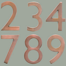 Traditional House Numbers by Architectural Mailboxes
