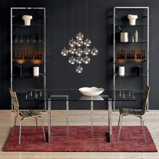 contemporary candles and candle holders by CB2
