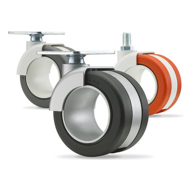 Hollow Wheel Casters - Designed by: Gabriele and Davide Adriano - Sant'Angelo Lodigiano, Italy