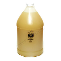 The Natchez Solution TLC Leather Care Natural Protection 1 Gallon - TLC is a combination of beeswax and FDA quality mineral oil especially blended to provide protection to all leather. TLC actually feeds into the leather and restores leather's natural beauty and suppleness. TLC is hypo-allergenic so it is safe to use on horse tack that touches the animal. Rub TLC into your old softball glove, boots, saddles--any leather product. It is so safe that it can be applied by hand.  Do not use on suede.