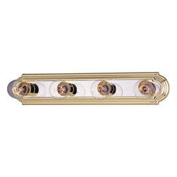Maxim Lighting - Maxim Lighting 7124PB/PC Essentials 4-lt Bath Vanity - Maxim Lighting 7124PB/PC Essentials 4-lt Bath VanityFinal Sale. Close out prices. While supplies last.