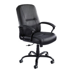 Safco - Safco Serenity Big and Tall Leather Highback Multicolor - 3500BL - Shop for Chairs from Hayneedle.com! About Safco ProductsSafco products were specifically developed to meet the changing needs of the business world offering real design without great expense. Each product is designed to fit the needs of individuals and the way they work by enhancing comfort and meeting the modern needs of organization in the workplace. These products encourage work-area efficiency and ultimately work-life efficiency: from schools and universities to hospitals and clinics from small offices and businesses to corporations and large institutions airports restaurants and malls. Safco continues to offer new colors new styles and new solutions according to market trends and the ever-changing needs of business life.