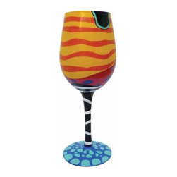 WL - 9 Inch Coral Reef Motif 15 Ounce Wine Style Cocktail Bar Glass - This gorgeous 9 Inch Coral Reef Motif 15 Ounce Wine Style Cocktail Bar Glass has the finest details and highest quality you will find anywhere! 9 Inch Coral Reef Motif 15 Ounce Wine Style Cocktail Bar Glass is truly remarkable.