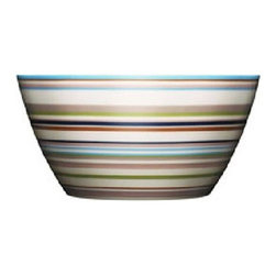 Iittala - Iittala Origo Bowl 16 oz - Brown - The Origo dinnerware collection features bold, modern color combinations allowing for unlimited combinability of the cups, bowls, and plates. Mix and match to suit your design whimsy. As durable as it is attractive, iittala's Origo dinnerware stands the test of everyday use over a long time. Designed by: Alfredo Haberli, 1999 Includes one brown bowl Porcelain Dishwasher safe.