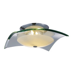 Curva 3-Light Flush Mount, Large