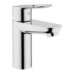 """Grohe - Grohe 23085 000 BauLoop Centerset Lavatory Faucet, Less Drain, Starlight Chrome - Grohe 23085 000 BauLoop Centerset Lavatory Faucet, Less Drain, Starlight Chrome Grohe 23085 000 BauLoop Centerset Lavatory Faucet, Less Drain, Starlight Chrome Features: Grohe SilkMove Ceramic Cartridge Grohe WaterCare - 30% Water Savings Single Loop Handle Stainless Steel Braided Flexible Supplies Quick Installation System ADA Compliant Less drain Spout Height: 5 13/16"""" Flow Rate: 1.5 gpm (5.7 l/min) Code Compliance: ASME/ANSI A112.18.1M, ANSI/NSF Standard 61, CSA Standard B125.1-05"""