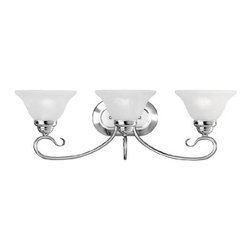 Livex Lighting - Livex Coronado Bath Light Chrome -6103-05 - Livex products are highly detailed and meticulously finished by some of the best craftsmen in the business