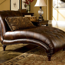 Traditional Indoor Chaise Lounge Chairs by Furnish America