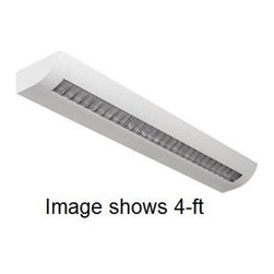 Utopia Lighting - Utopia 2-ft WIOL Architectural Linear Wall Mount, 2 x 14W T5, Single Ballast, 12 - Architectural indoor, direct/indirect suspended light. It creates soft and diffused lighting that ensures maximum visual comfort and balanced shadows. It can be installed individually or in a continuous line. Use for general office, banking, retail and educational environments.