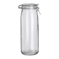 IKEA of Sweden - SLOM Jar with lid - Jar with lid, clear glass