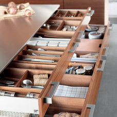 Contemporary Kitchen Drawer Organizers by Nar Bustamante, Nar Fine Carpentry, Inc.