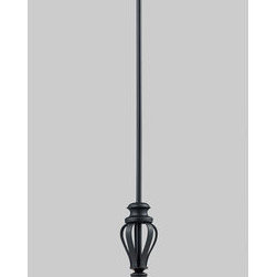 Z-Lite - Z-Lite 2007MP Charleston 1 Light Down Light Mini Pendant - Z-Lite 2007MP Charleston 1 Light Down Light Mini PendantFrom Z-Lite's Charleston Collection, featuring a metal frame, fabric shade and modern lines highlight this one light mini pendant from the Charleston Collection. With a height of 62.25 inches and a luxurious white/matte black finish, this mini pendant adds a contemporary feel to any room.Z-Lite 2007MP Features:
