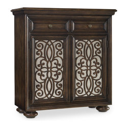 Hooker Furniture - Hooker Furniture Two-Door Fretwork Chest 5155-85002 - Hooker Furniture Two-Door Fretwork Chest 5155-85002