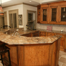 Traditional Kitchen Countertops by Stone Surface Design