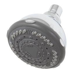 Premier Faucet - Seven-Setting Showerhead -Chrome - Premier 192051 Seven-Setting Showerhead, Chrome.
