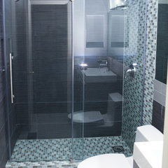 bath products Vigo Frameless Glass Shower Doors