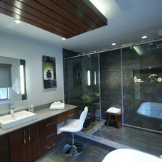 Contemporary Bathroom by The Nielsen Collection