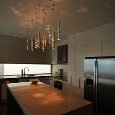 modern kitchen lighting and cabinet lighting by ilanel. light life.