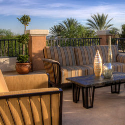 Outdoor furniture by O.W. Lee -