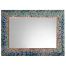 Transitional Mirrors by Opus Mosaics