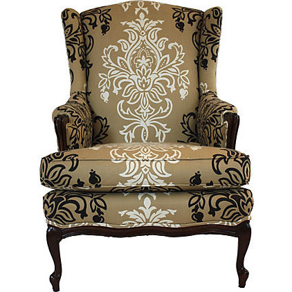 Eclectic Living Room Chairs by Soul and Love Designs