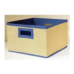 Alaterre Furniture - Links Storage Basket - Set of 3 - Set of 3. Made of woven basket lined with cotton. No assembly required. 1-Year warranty against manufacturing related issues. 13 in. W x 12 in. D x 10 in. H (6 lbs.)Storage Baskets come in packaged 3 in a set and are great for organizing and eliminating clutter. Add color and reduce clutter in bookcase or open shelving areas in your home.