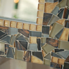 Contemporary Mirrors by Green Street Mosaics