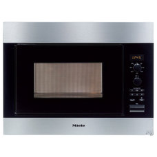 """Miele M8260 24"""" Built in Microwave Oven with 900 Cooking Watts, 11 Automatic Pro"""