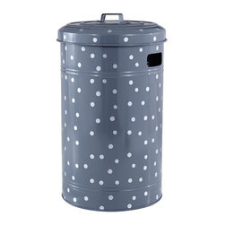 Put a Lid on It Floor Bin - I adore the color of this storage bin. It's so sturdy and substantial and perfect for holding toys. The lid can even double as a shield during pretend battles.