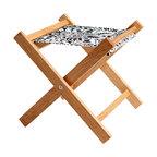 Gallant & Jones - Copacabana Deck Stools - Stool with Fabric Sling