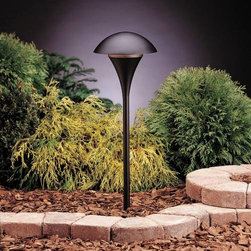 """Kichler - Kichler 15236BKT Eclipse Path & Spread Light 15236BKT - Textured Black finishBulb Included: No Bulb Type: A19 Collection: Eclipse Finish: Textured Black Height: 25"""" Number of Lights: 1 Socket 1 Base: Medium Socket 1 Max Wattage: 100 Style: Soft Contemporary Casual Lifestyle Type: Path Light Wattage: 100W Width: 9"""""""