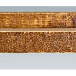 Montana Woodworks - 21 in. Towel Rack - Hand crafted. Heirloom quality. Timbers and trim pieces are sawn square. Rustic timber frame design. Made from American grown wood. Stained and lacquered finish. Made in USA. No assembly required. 21 in. W x 6 in. D x 4 in. H (3 lbs.). Warranty. Use and Care InstructionsAdd to the rustic ambiance in your home with this delightful towel rack. This towel rack is the perfect fit in the kitchen, bath or with the Montana woodworks bar.