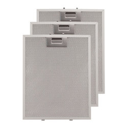 """Replacement Filter for 36"""" Artisan Series Stainless Steel Island Range Hood - Replacing the filters on your 36"""" Artisan Series Island Range Hood is simple with these reusable aluminum replacement filters. These filters are easily cleaned and also dishwasher safe."""