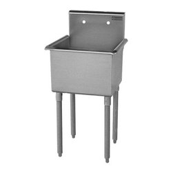 Griffin - Griffin Single Compartment Scullery Sink (T60-144) - Griffin T60-144 Single Compartment Scullery Sink