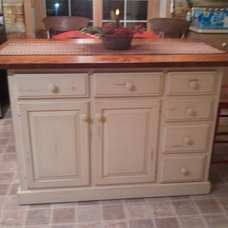 Traditional Kitchen Islands And Kitchen Carts by DutchCrafters Amish Furniture