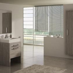 Montreal 24 inch bath vanity - Montral 24 inch bathroom vanity.