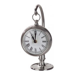 Hanging Clock With Stand - Every room has to have a clock, so why not use this one? It has a lovely classic design.